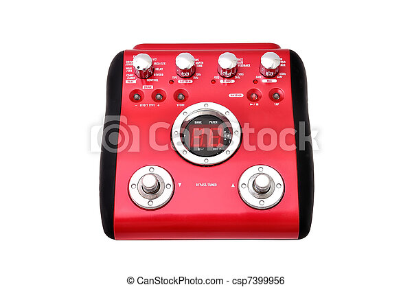 Guitar multi effects pedal - csp7399956