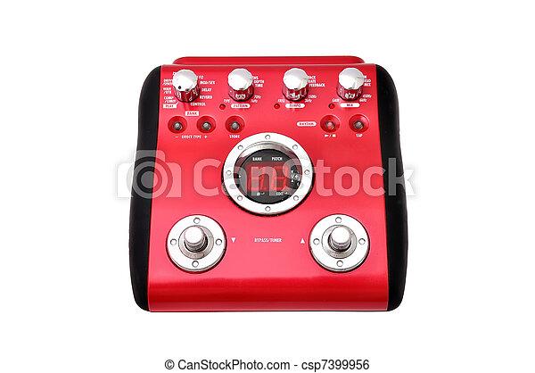 Guitar multi effects pedal - csp7399956