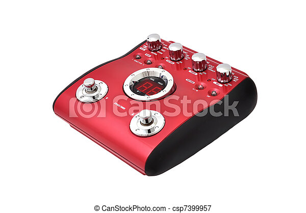 Guitar multi effects pedal - csp7399957