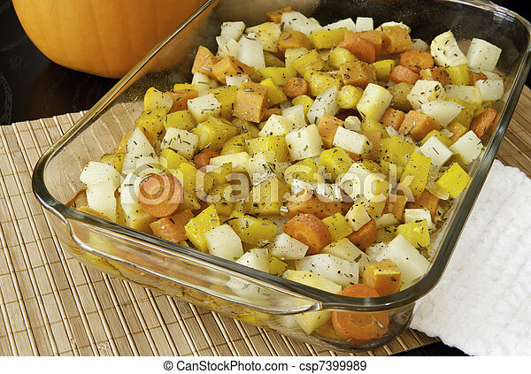 Roasted Root Vegetables - csp7399989