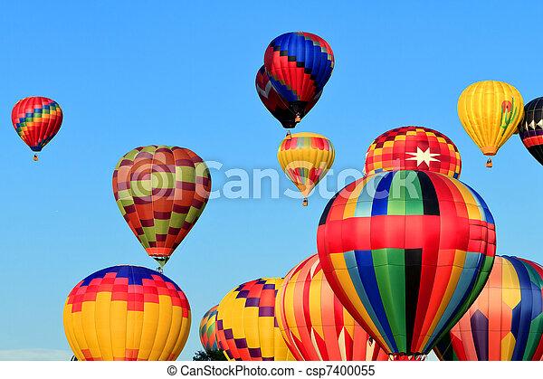 hot air balloons - csp7400055