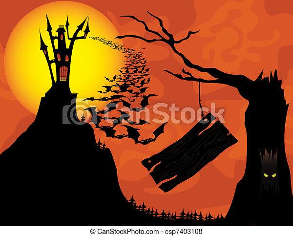 Spooky Vision - csp7403108