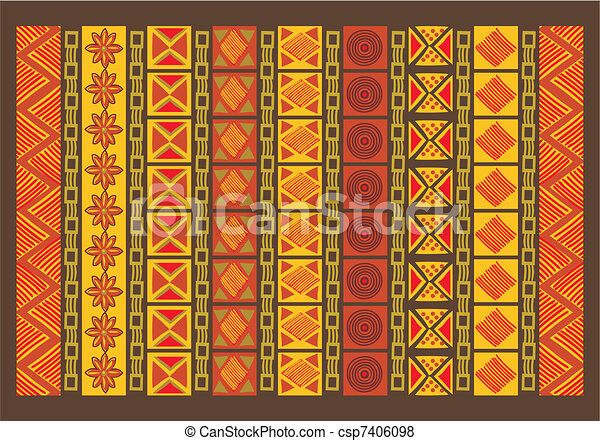 Ethnic Pattern - csp7406098