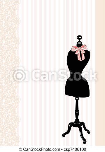 Dress form  - csp7406100