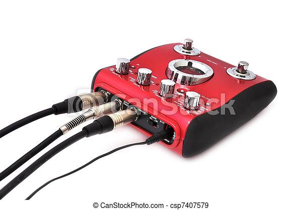 Guitar multi effects pedal - csp7407579