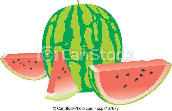 Tasty water-melon - csp7407877