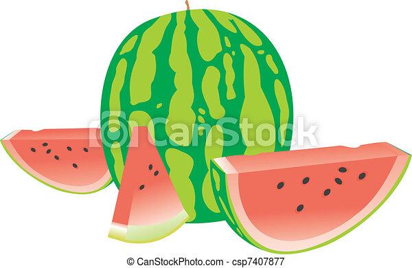 Tasty water-melon - csp7407877