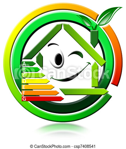Icon energeting saving - csp7408541