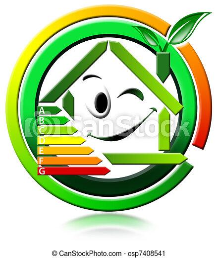 Icon energeting saving - csp7408541