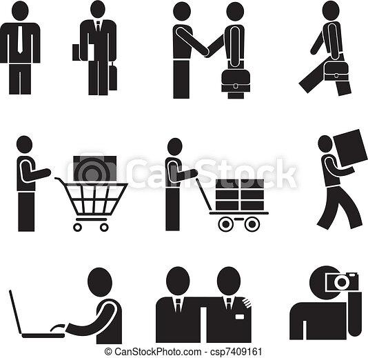 Pessoas Isolado Vetorial %C3%ADcones 7409161 on Office Cleaning Clip Art Free