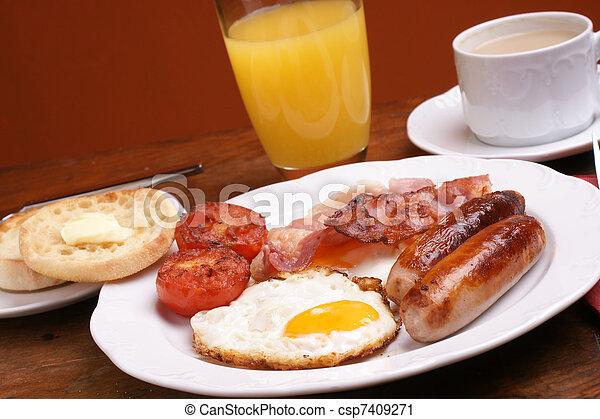 Cooked breakfast - csp7409271