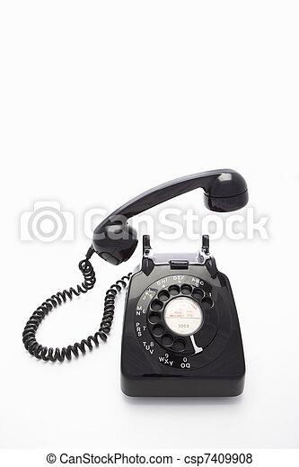 images de cadran rotatif t l phone a rotatif cadran t l phone csp7409908 recherchez des. Black Bedroom Furniture Sets. Home Design Ideas
