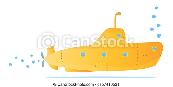 yellow submarine - csp7410531
