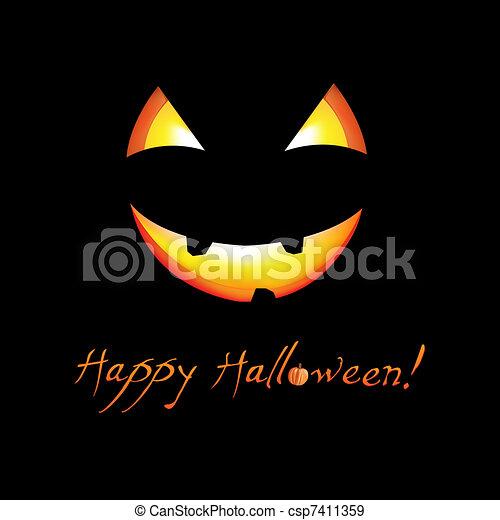 Happy Halloween - csp7411359
