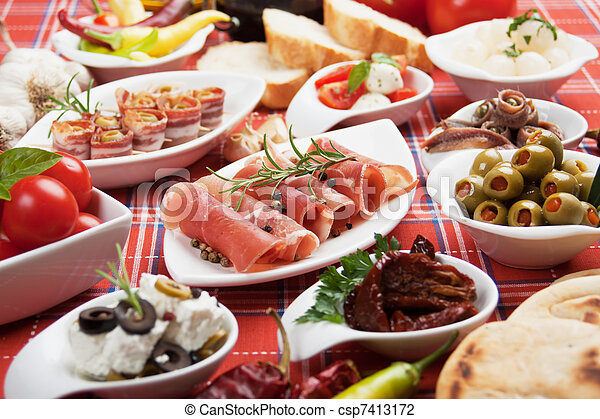 Appetizer food - csp7413172