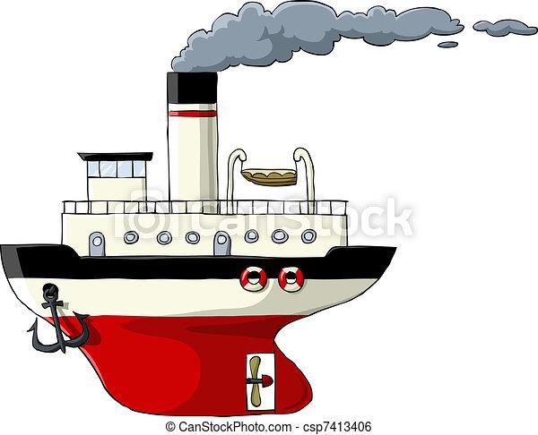 Steamer - csp7413406