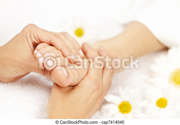 Foot massage - csp7414040