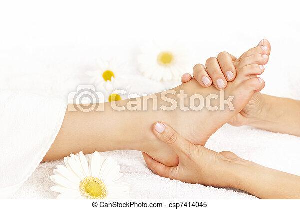Foot massage - csp7414045