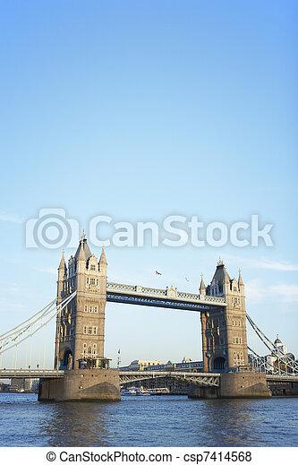 Tower Bridge, London, England - csp7414568