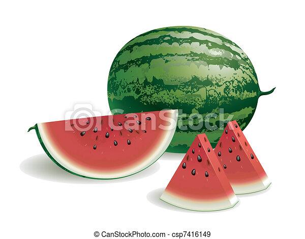 Watermelon - csp7416149