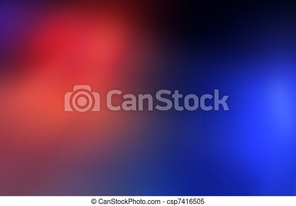 Police car light bar background - csp7416505