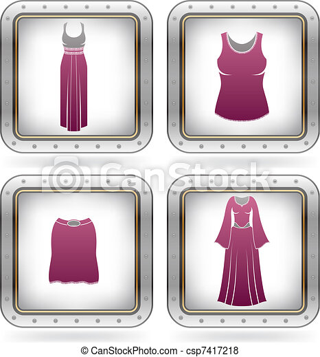 Woman's Clothing - csp7417218