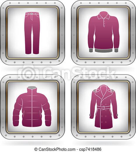 Man\'s Clothing - csp7418486