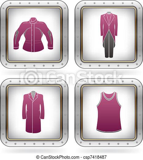 Man\'s Clothing - csp7418487