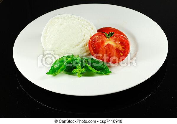 mozzarella - csp7418940