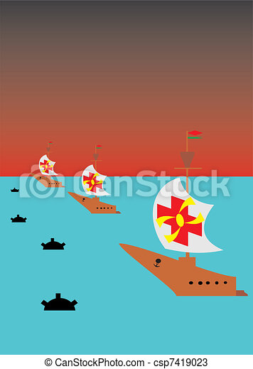 Sea campaign - csp7419023