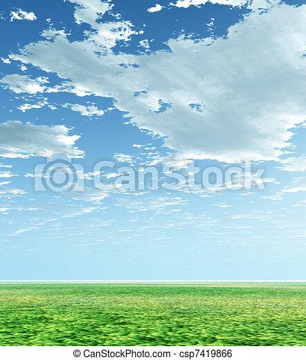 Spring scenery - csp7419866