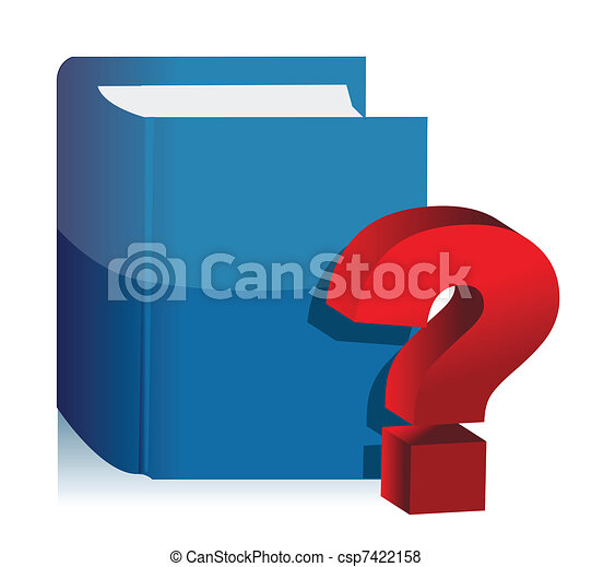 Question Book - unknown content - csp7422158