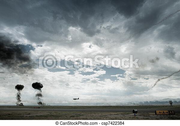 Pearl Harbor Reenactment  - csp7422384