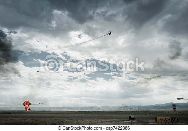 Pearl Harbor Reenactment  - csp7422386