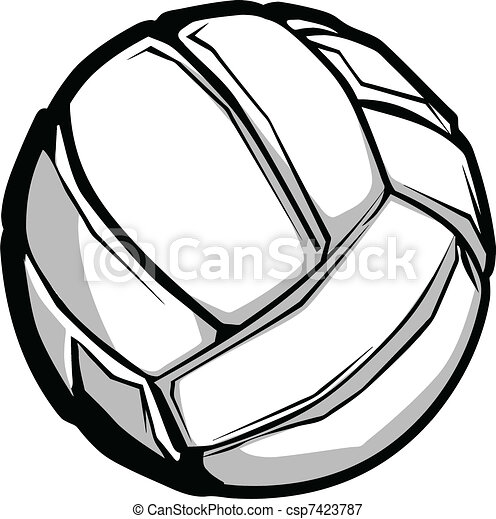 Volleyball Vector Image - csp7423787