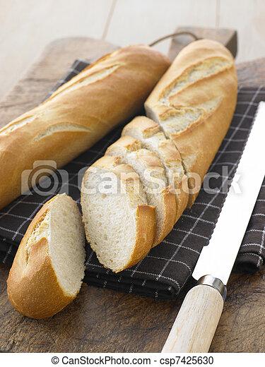 Sliced Baguette Sticks - csp7425630