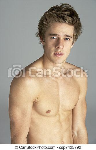 голые молодые люди фото