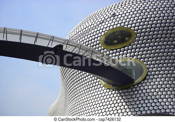 The Bullring Shopping Centre, Birmingham, UK - csp7426132