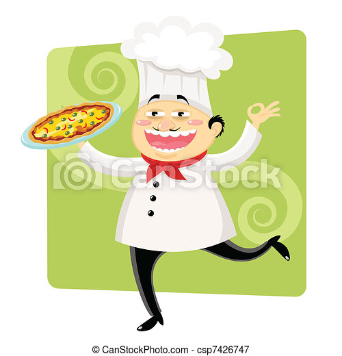 funny chef - csp7426747