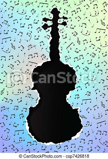 Violin - csp7426818