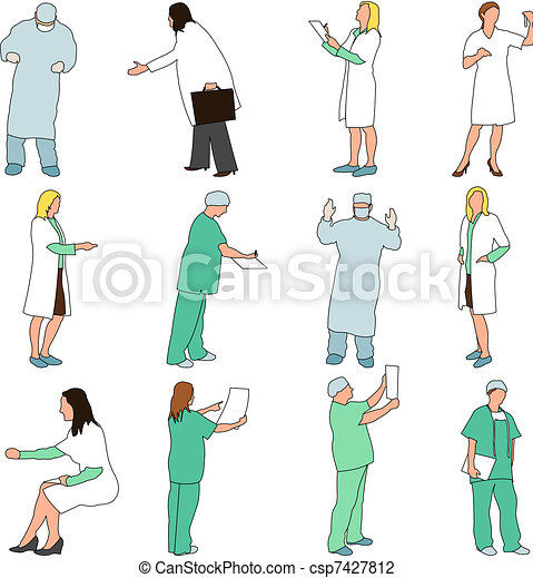 People - Professions - Medical - csp7427812
