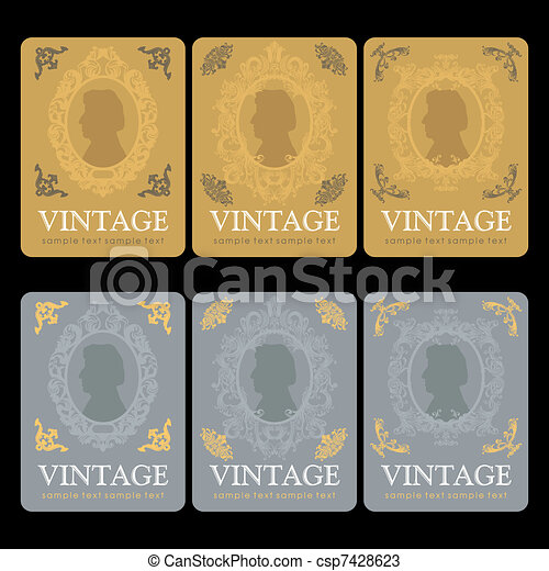Vectors of Vintage Wine Labels Design Template csp7428623 Search – Free Wine Label Design