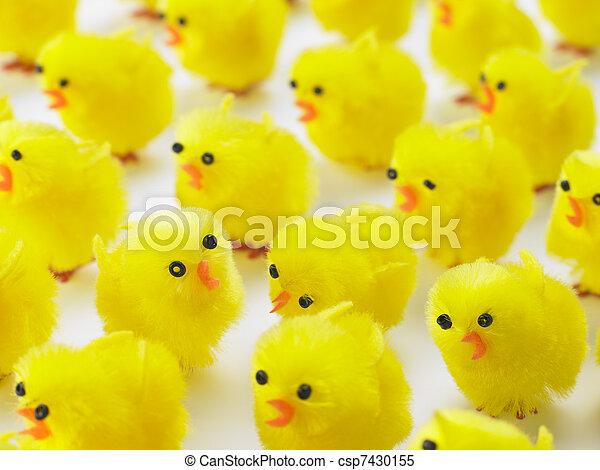 豐富, 小雞, 復活節 - csp7430155