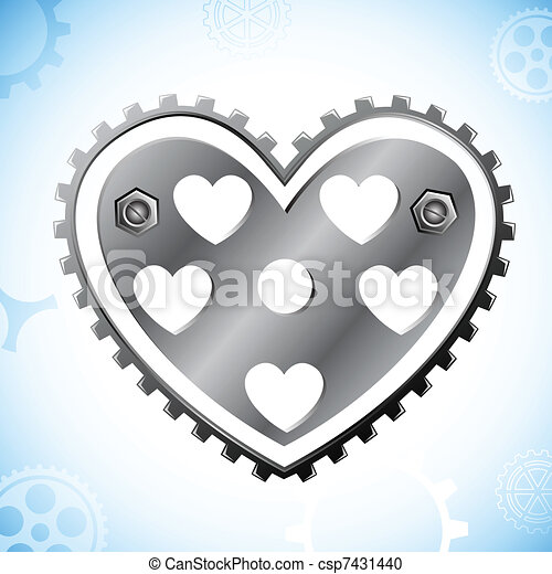 Mechanical Heart - csp7431440
