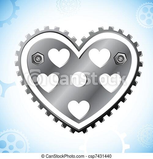 Mechanical Heart - csp7431440