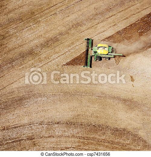 Harvester - csp7431656