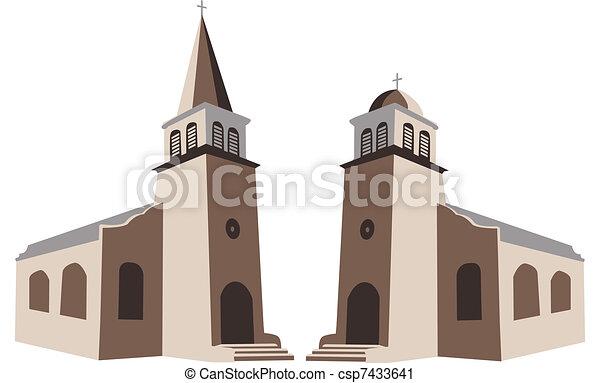 Church - csp7433641