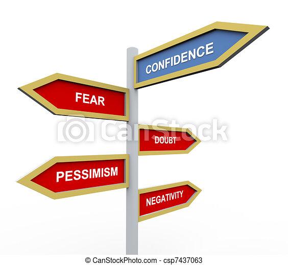 Confidence - csp7437063