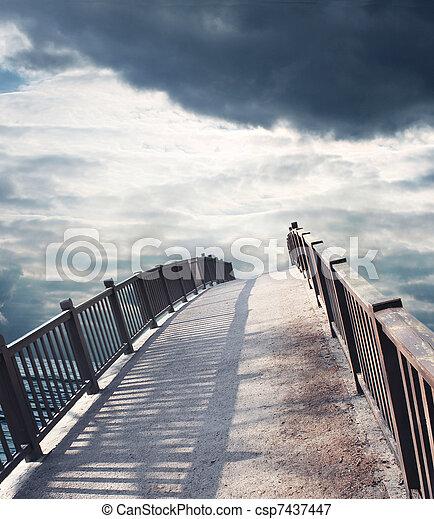 bridge to the sky - csp7437447