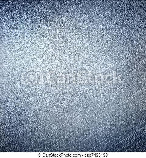 Blue metal. - csp7438133